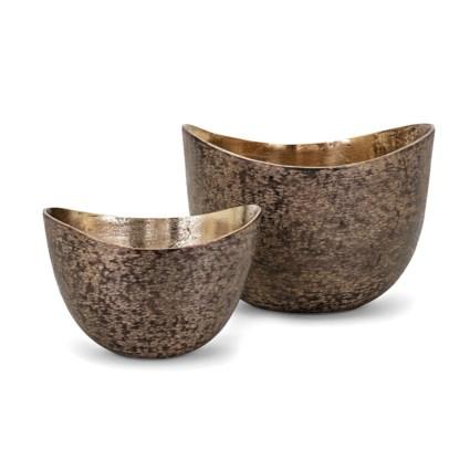 Stuart Decorative Bowls Set Of 2 Vases Imax Worldwide Home