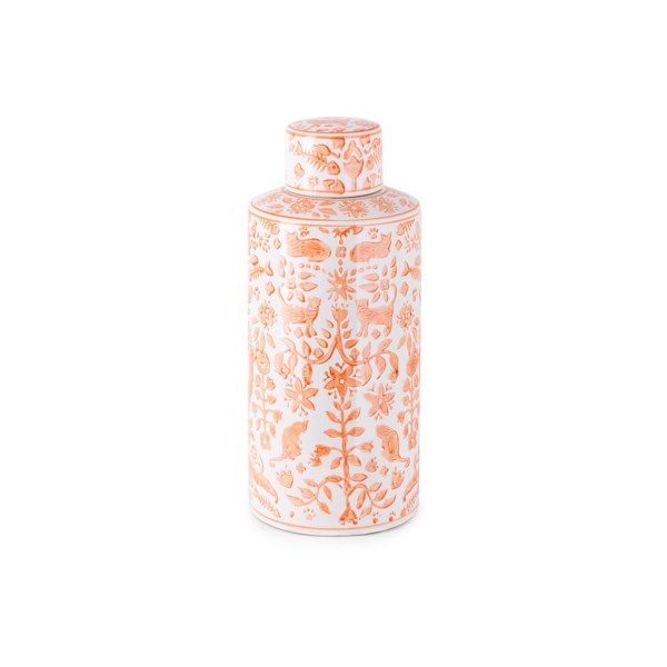 Otomi Medium Handpainted Canister