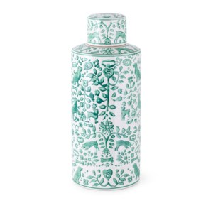 Otomi Large Handpainted Canister