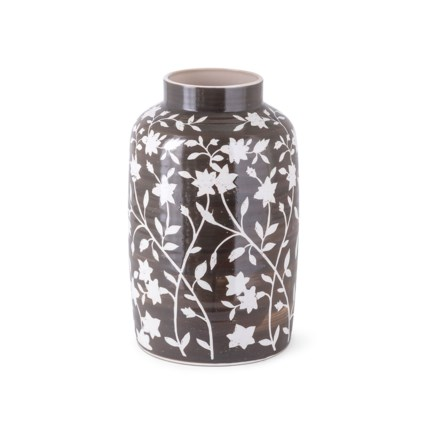 Roscoe Handpainted Short Vase