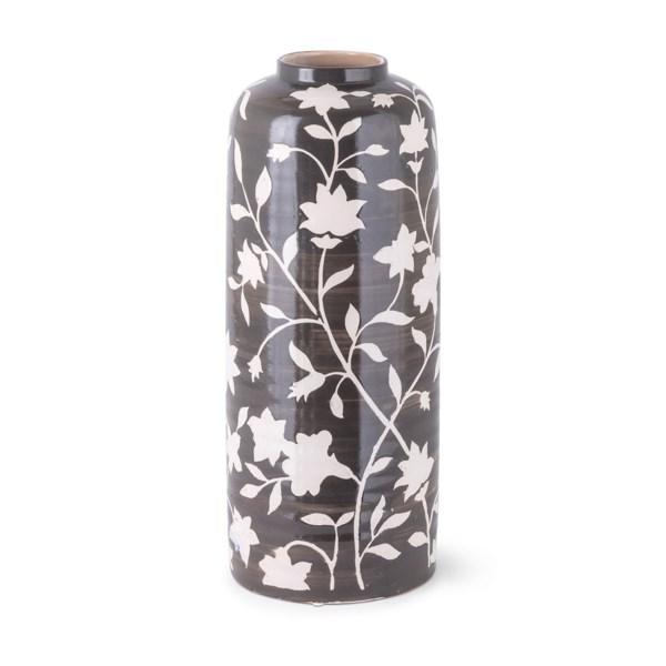 Roscoe Handpainted Tall Vase