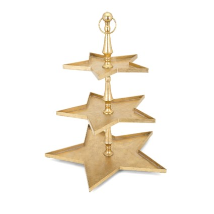 Christmas Gold Star 3 Tier Server