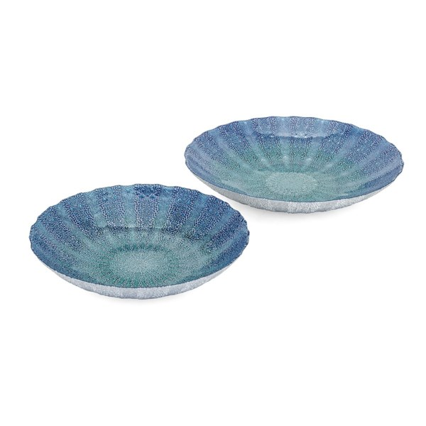 Brynlee Glass Chargers - Set of 2