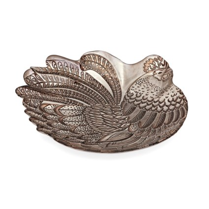 Rooster Glass Charger