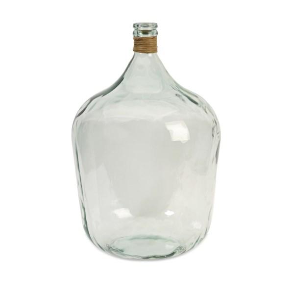 Boccioni Large Recycled Glass Jug Vases Imax Worldwide Home