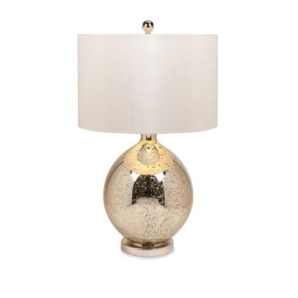 Avignon Mercury Glass Table Lamp Table Lamps Imax