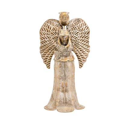Seraphina Small Angel Candleholder