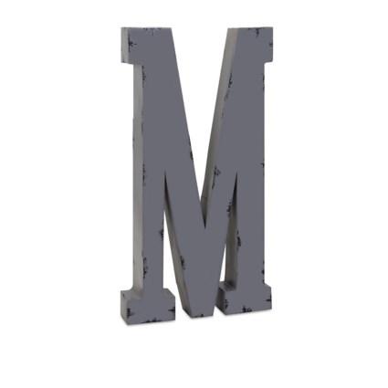 Ella Elaine Oversized Metal Letter M