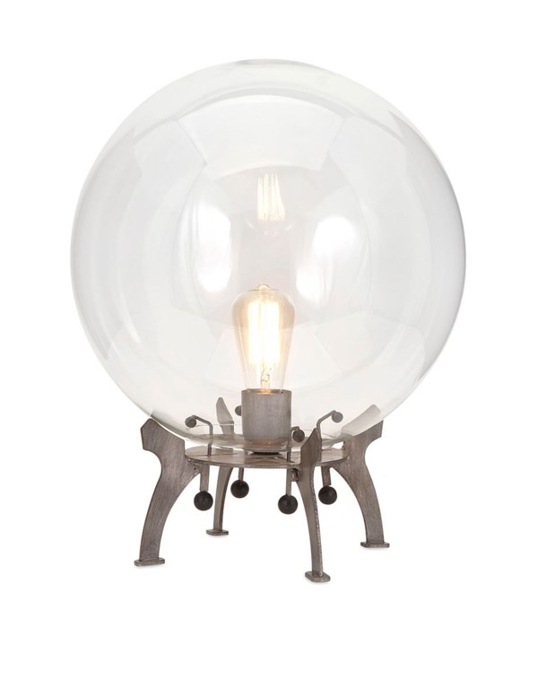 Electrode Oversized Glass Table Lamp