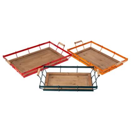 Farmstead Decorative Trays - Set of 3