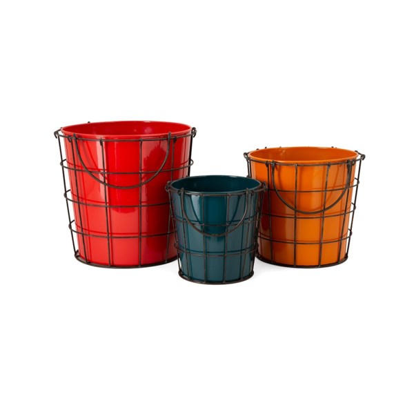 Farmstead Planters - Set of 3