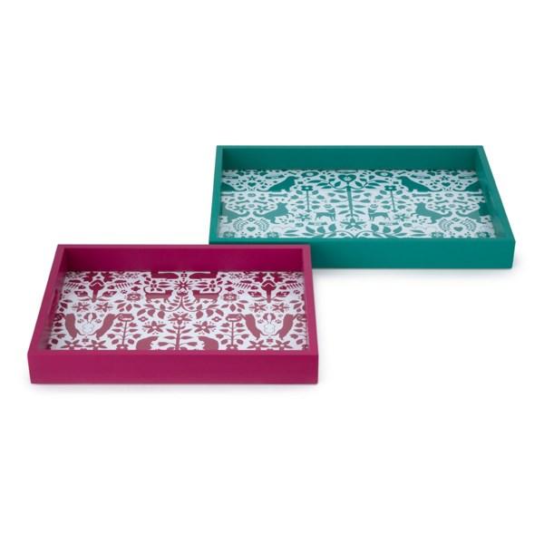 Otomi Pet Trays - Set of 2