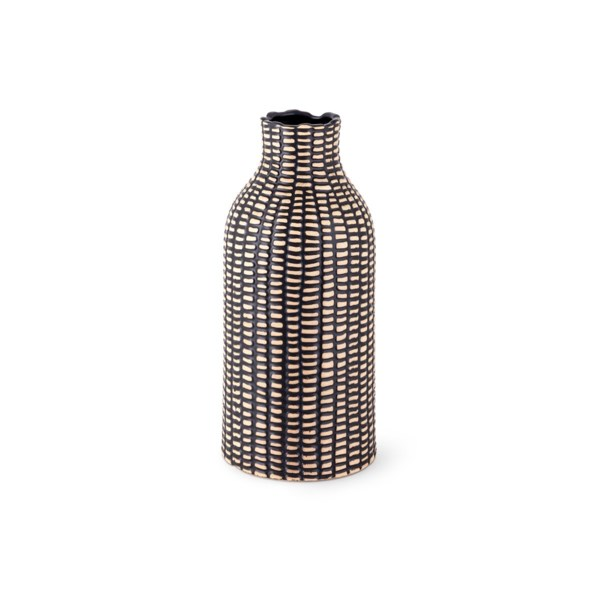 Woven Small Ceramic Vase