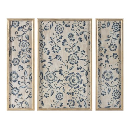 Avignon Wooden Wall Panels - Set of 3