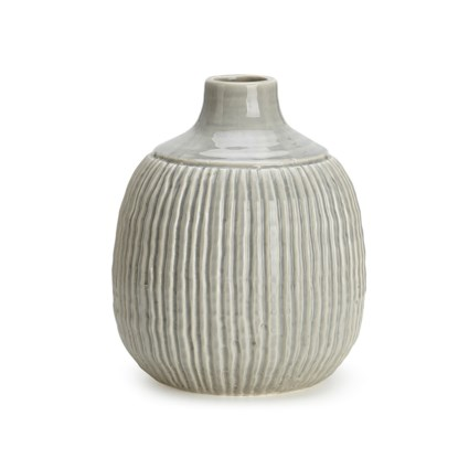 Felicia Medium Striped Vase New Imax Worldwide Home