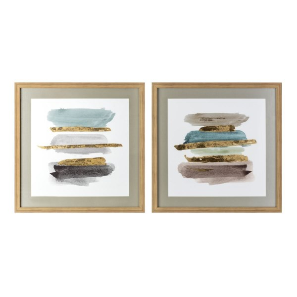 Dover Framed Wall Decor - Ast 2