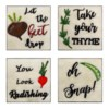 Whimsy Veggie Wall Decors - 4