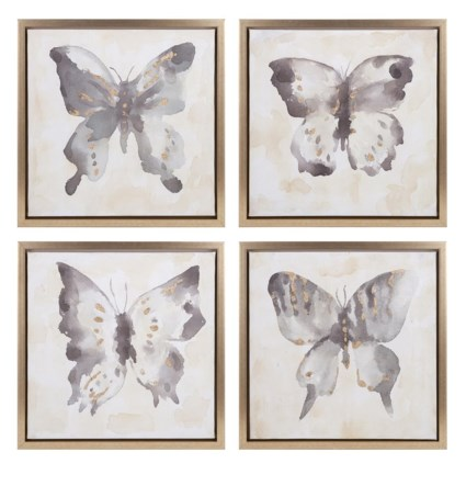 Allurement Framed Oil Paintings - Ast 4