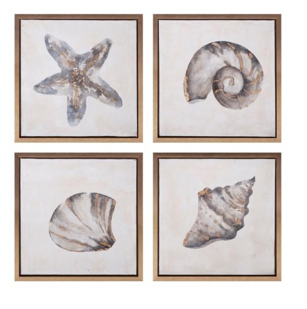 Waterbury Framed Oil Paintings - Ast 4