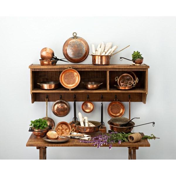 25-Piece Copper Kitchen Wall Assortment