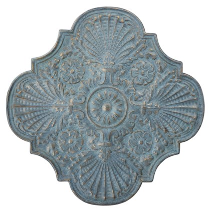 Dorotea Stamped Metal Wall Decor