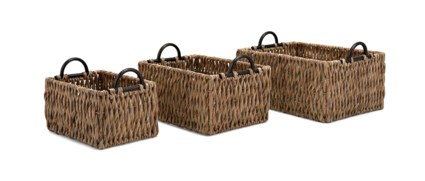 Kargo Baskets with Handles - Set of 3