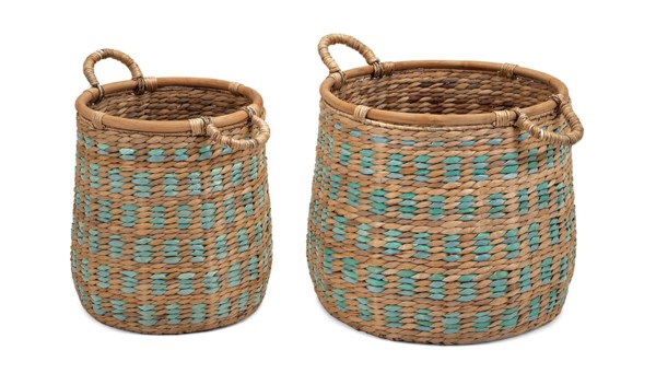 Rocco Baskets with Handles - Set of 2