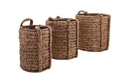 Kashon Baskets with Handles - Set of 3