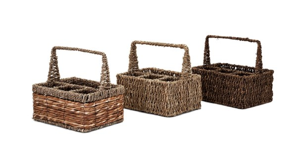 Compartment Utility Baskets - Ast 3