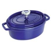 Staub Cast Iron 5.75 qt Coq au Vin Cocotte - Dark Blue
