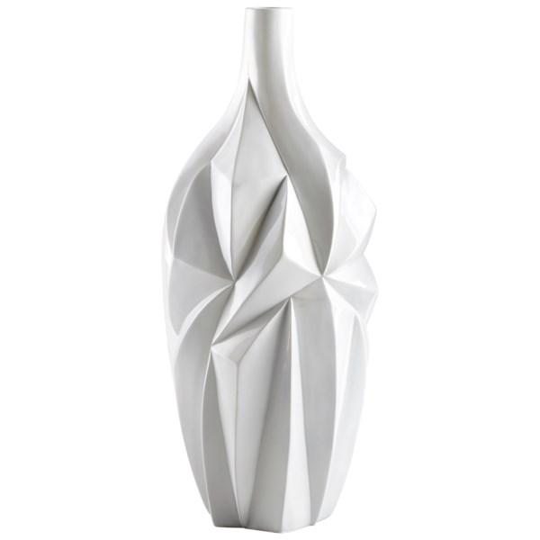 Colton Lane Cyan Design Large Glacier Vase Ceramic And Other