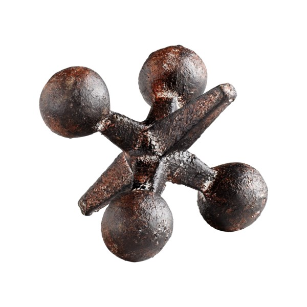 Cyan Design Small Antiqued Rust Jack