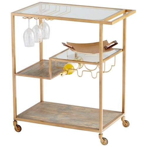 Cyan Design - Barhand Bar Cart