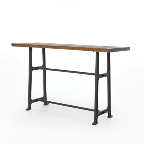 Four Hands - Alistair Bar Table-Bleached Oak/Vintage Mid Grey