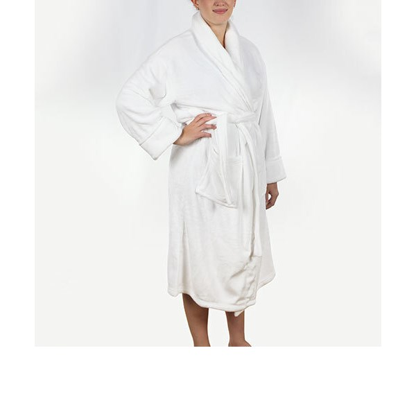 Bedford Cottage - Spa Robe White - One Size Fits Most