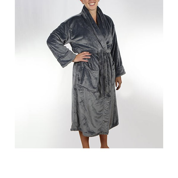 Bedford Cottage - Spa Robe Dove - One Size Fits Most