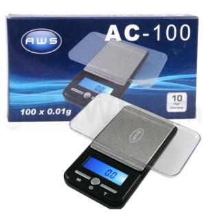 AWS AC-100 100g x 0.01g Poket Scales