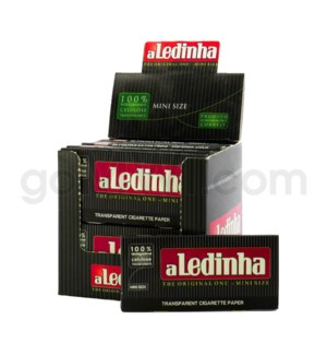 Aleda 1 1/4 Transparent  mini size Rolling Papers