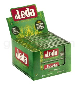 Aleda Transparent King Size Rolling Papers