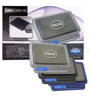 AWS CARD-V2 -100 100g x 0.01g Scales