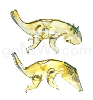 "DISC Animal pipe 4"" Fox"
