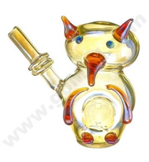 "DISC Animal pipe 4"" Ninja Owl"