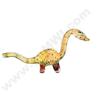 "DISC  Animal pipe 6"" Dotted Dinosaur"