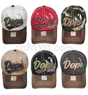 Vintage Lux Dope Hat Strapback 12ct (Sold by DZ only)