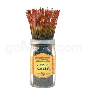 Wildberry Incense Apple Crisp 100/ct