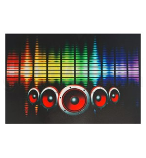 DISC T Shirts LED-Stereo (L)