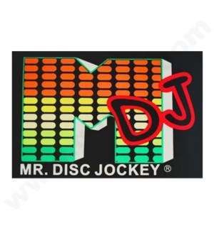 DISC T Shirts LED-DJ (2XL)