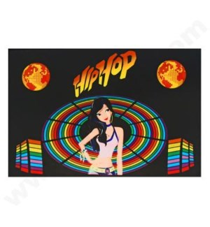 DISC T Shirts LED-HipHop (XL)