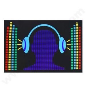 DISC T Shirts LED-Headset (XL)