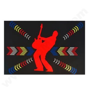 DISC T Shirts LED-Guitar (XL)